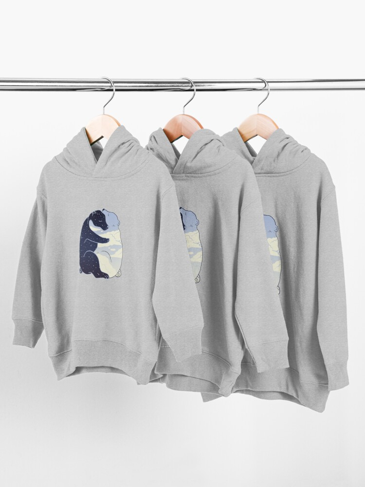 Alternate view of Day and Night Toddler Pullover Hoodie