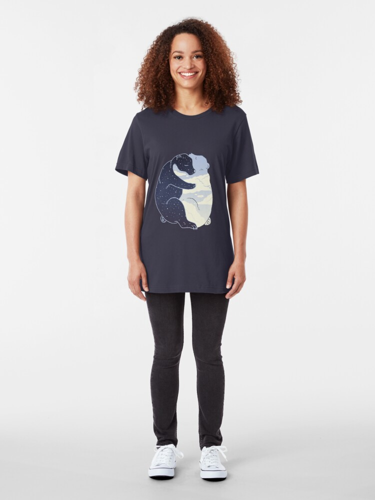 Alternate view of Day and Night Slim Fit T-Shirt