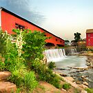 Bridgeton Mill and Covered Bridge by Gregory Ballos