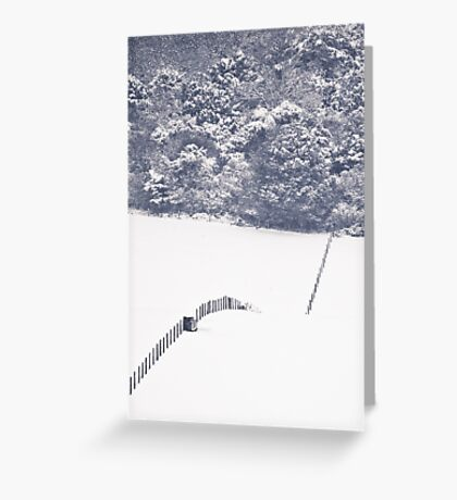 "Surreality ""S"" Greeting Card"