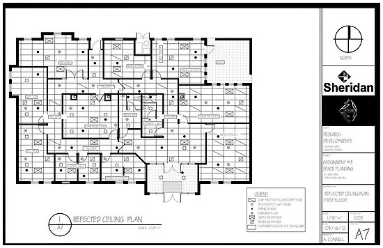 Quot Space Planning Reflected Ceiling Plan Quot Poster By