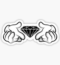 Diamond Hands Sticker Friendly Sticker