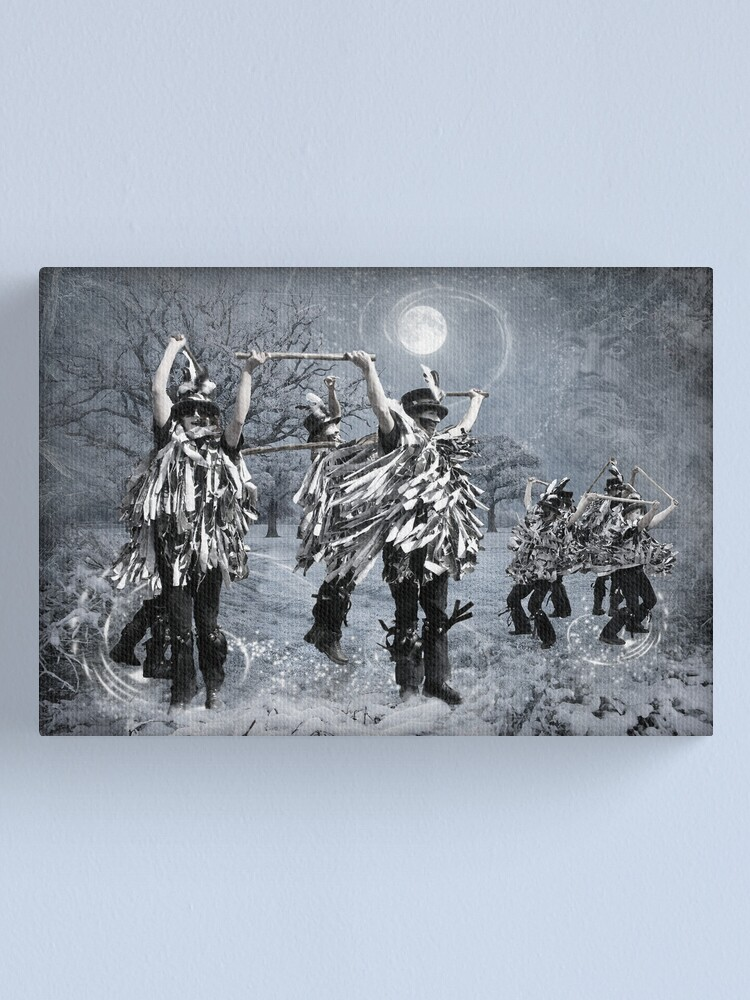 Alternate view of Winter Solstice Dance Canvas Print
