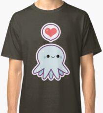 Cute Blue Octopus Classic T-Shirt