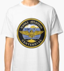 Naval Aviation Centennial Logo Classic T-Shirt