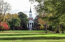 Parker Hall - Hanover College by Sandy Keeton