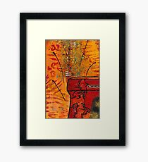 Love Vessel for My Woman Framed Print