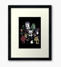 Predators of the Bat Framed Print