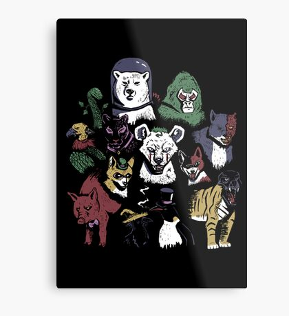 Predators of the Bat Metal Print