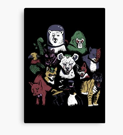 Predators of the Bat Canvas Print