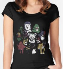 Predators of the Bat Women's Fitted Scoop T-Shirt