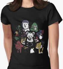 Predators of the Bat Women's Fitted T-Shirt