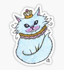 Little Blue Cheshire Sticker