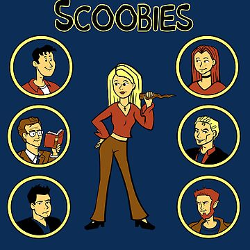 Buffy and the Scooby Gang by sponzar