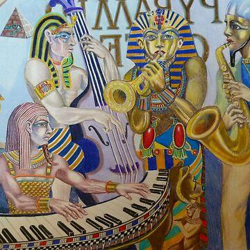 K. Tut & the Pharoah Four by SallySargent