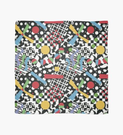 Ticker Tape Geometric Design Scarf