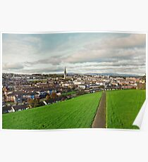 Derry from the City Walls Poster