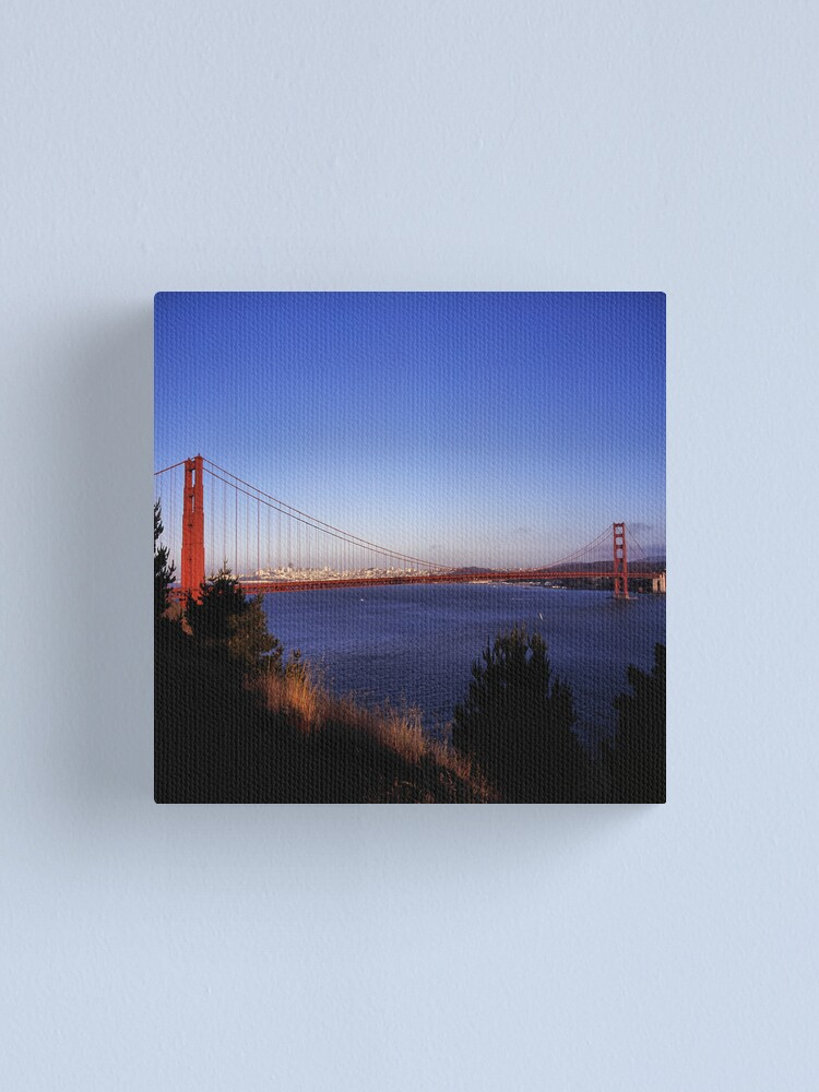 Alternate view of Golden Gate Bridge From Battery Wagner Canvas Print