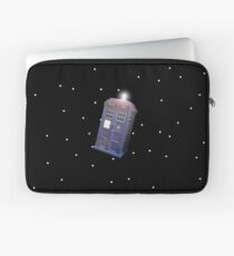 Police Box in Outerspace. Laptop Sleeve