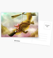 Pfft Who Says I Can't Fly? Postcards