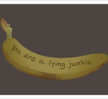 A lying Junkie | Community by Mark Quimoyog