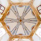 hexágono. abóboda do Santuário do Senhor da pedra. by terezadelpilar ~ art & architecture