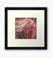 'Flame' Framed Print