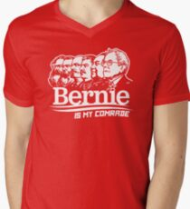 Bernie Sanders Is My Comrade Men's V-Neck T-Shirt