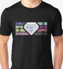 Pixel White Diamond | Community Unisex T-Shirt
