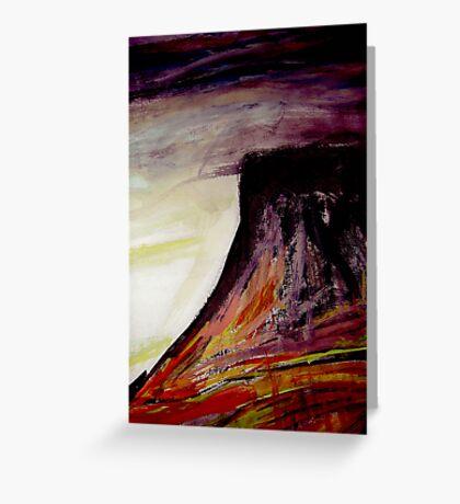 dusk..... table peak Greeting Card