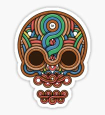 Celtic Skull Sticker