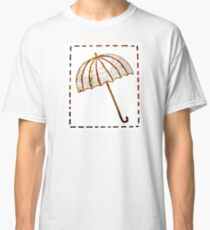 Under the Umbrella of Words Classic T-Shirt