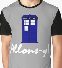 """""""Allons-y!"""" Graphic T-Shirt"""