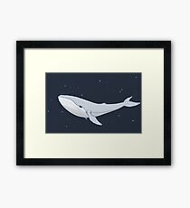 The Whale In The Night Framed Print