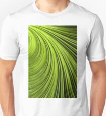 Green Flow Abstract Unisex T-Shirt