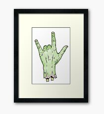 Rock'n'Rise Framed Print