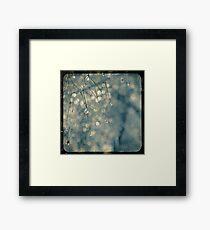 Raindrops TTV Framed Print
