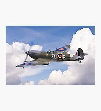 Spitfire Pass Photographic Print