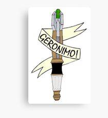 Sonic--Geronimo. Canvas Print