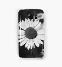 Daisy in Black and White Samsung Galaxy Case/Skin