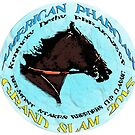 American Pharoah Grand Slam 2015 by Ginny Luttrell