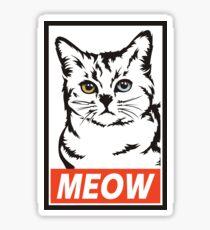 Posse Cat Sticker