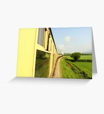 choo choo Greeting Card