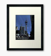 Sky Tower Framed Print