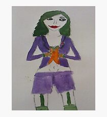 Female Joker Photographic Print
