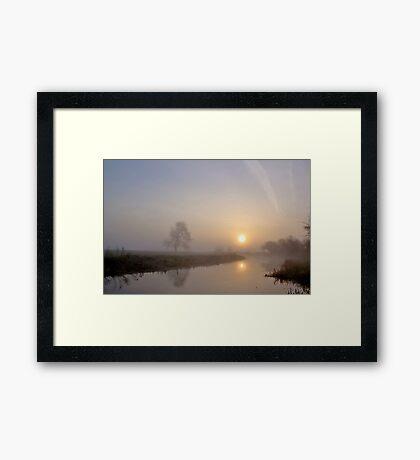 Silence at Sunrise Framed Print