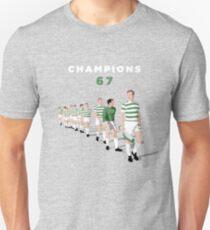 Lisbon Lions - Champions 67 Unisex T-Shirt