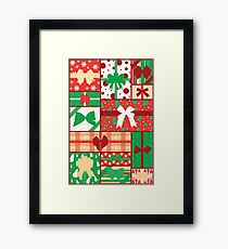 Presents Framed Print