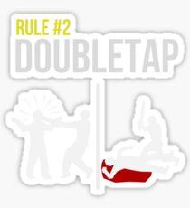 Zombie Survival Guide - Rule #2 - Doubletap Sticker