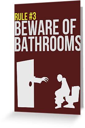 Zombie Survival Guide - Rule #3 - Beware of Bathrooms by AlexNoir